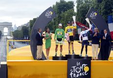Chris Froome 2015 Tour de France Royalty Free Stock Photography