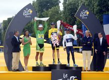 Chris Froome 2015 Tour de France Royalty Free Stock Photo