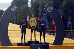 Chris Froome 2015 Tour de France Stock Photography