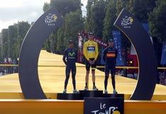 Chris Froome 2015 Tour de France Royalty Free Stock Photos