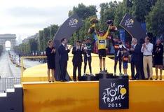 Chris Froome 2015 Tour de France Stock Photo