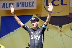 Chris Froome Tour de France 2015 Royalty Free Stock Photos