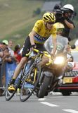 Chris Froome Tour de France 2015 Royalty Free Stock Image
