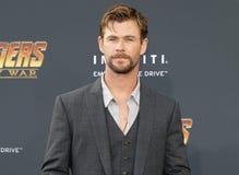 Chris Hemsworth stock afbeelding