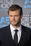 Chris Hemsworth Lizenzfreies Stockbild