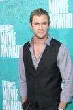 Chris Hemsworth au film 2012 de MTV attribue des arrivées, amphithéâtre de Gibson, la ville universelle, CA 06-03-12 Images libres de droits