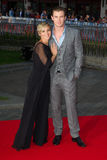 Chris Hemsworth, Elsa Pataki Imagem de Stock Royalty Free