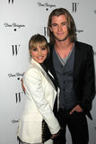 Chris Hemsworth, Elsa Pataky Stock Photos
