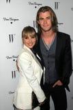 Chris Hemsworth, Elsa Pataky stock photos