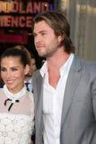 Chris Hemsworth, Elsa Pataky stock images