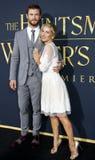 Chris Hemsworth and Elsa Pataky Royalty Free Stock Image