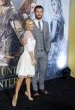 Chris Hemsworth and Elsa Pataky Stock Photos