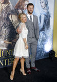 Chris Hemsworth and Elsa Pataky Royalty Free Stock Images
