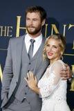Chris Hemsworth and Elsa Pataky Stock Image