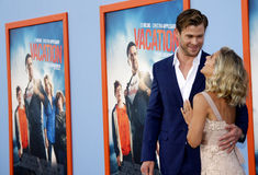 Chris Hemsworth and Elsa Pataky Royalty Free Stock Photos
