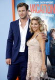 Chris Hemsworth and Elsa Pataky Stock Photos