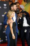 Chris Hemsworth and Elsa Pataky Stock Image