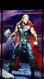 Chris Hemsworth som Thor royaltyfri bild