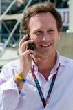 Chris Horner, προι4στάμενος ομάδων της ομάδας του Red Bull F1 Στοκ εικόνες με δικαίωμα ελεύθερης χρήσης