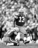 Chris Jacke. Green Bay Packers kicker Chris Jacke. (Image taken from b&w negative stock photo