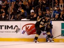 Chris Kelly check Brandon Dubinsky NHL Hockey Stock Photography