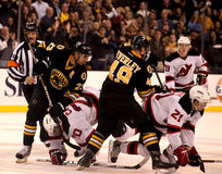 Chris Kelly and Rich Peverley Boston Bruins Stock Image