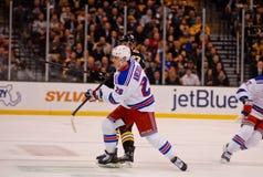Chris Kreider New York Rangers Στοκ εικόνα με δικαίωμα ελεύθερης χρήσης