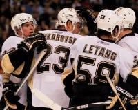 Chris Letang, Pittsburgh Penguins stock afbeelding