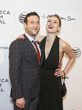 Chris Marquette and Emily Isacson Royalty Free Stock Photo