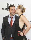 Chris Marquette and Emily Isacson Royalty Free Stock Photos