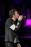 Chris Martin from rock band Coldplay Stock Photo