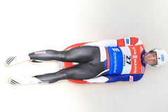 Chris Mazdzer - luge Stock Image