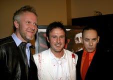 Chris Nelson, Δαβίδ Arquette και Paul Reubens Στοκ Εικόνες