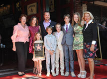 Chris O'Donnell & family Stock Images