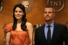 Chris O'Donnell,Michelle Monaghan Royalty Free Stock Photo