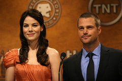 Chris O'Donnell,Michelle Monaghan Royalty Free Stock Photos