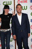 Chris O'Donnell, Pauley Perrette stockfoto