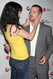 Chris O'Donnell,Pauley Perrette Stock Photos