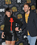 Chris O'Dowd & Dawn Porter Royalty Free Stock Photo