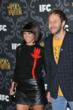 Chris O'Dowd & Dawn Porter Stock Photo