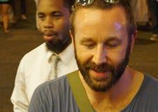 Chris ODowd Signs Autographs Stock Afbeeldingen
