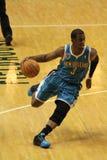 Chris Paul New Orleans Hornets Slashing to bucket Royalty Free Stock Image