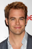 Chris Pine arrives at the Paramount Studios Presentation at CinemaCom 2012 Stock Photo