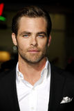 Chris Pine. At the Los Angeles premiere of Jack Ryan: Shadow Recruit held at the TCL Chinese Theatre in Los Angeles on January 15, 2014 in Los Angeles royalty free stock image