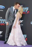 Chris Pratt και Anna Faris Στοκ εικόνα με δικαίωμα ελεύθερης χρήσης