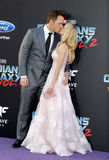Chris Pratt και Anna Faris Στοκ Εικόνες