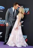 Chris Pratt και Anna Faris Στοκ φωτογραφία με δικαίωμα ελεύθερης χρήσης