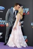 Chris Pratt och Anna Faris Arkivfoto