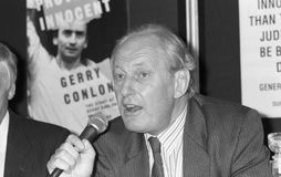 Chris Price. Former Labour party Member of Parliament for Lewisham West, at a press conference in London on June 11, 1990 Stock Photo