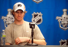 Chris Pronger Imagem de Stock Royalty Free